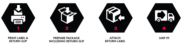 best service 0b716 63e9c Shipping Your Return Exchanges Returns and exchanges are easy! Just print  your free return label and return packing slip by visiting the Order  History page ...