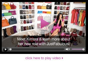 Her new role with JustFabulous