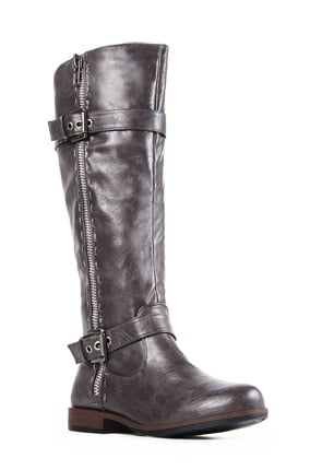 Roca Faux Leather Boots