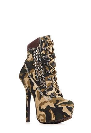 Maylie Women's Platform Heeled Boots