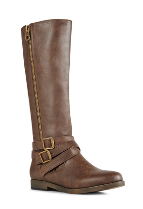 Apollina Women's Faux Leather Boots