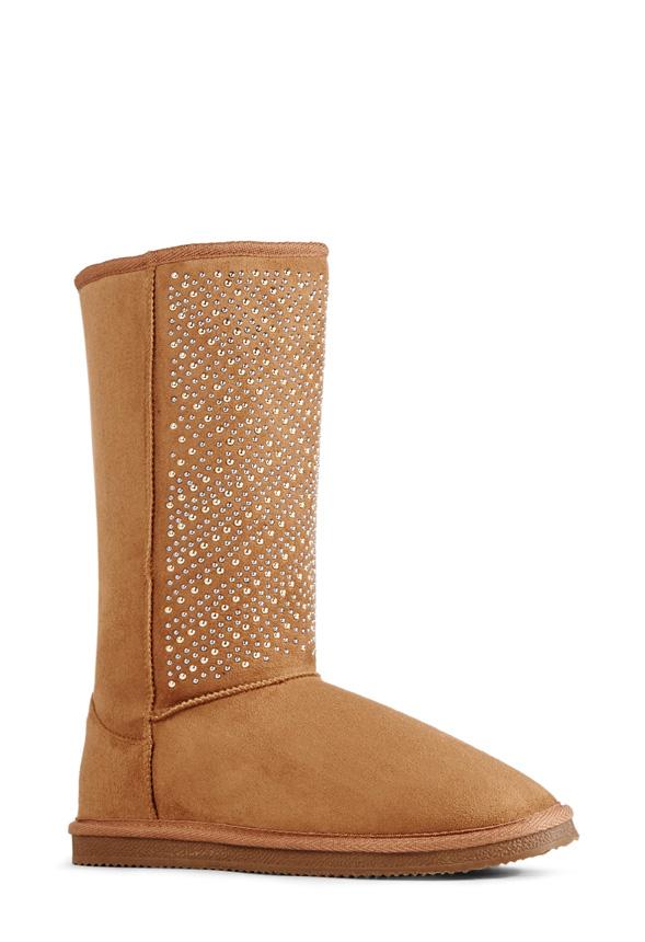 JustFab Durango Womens Brown Size 11