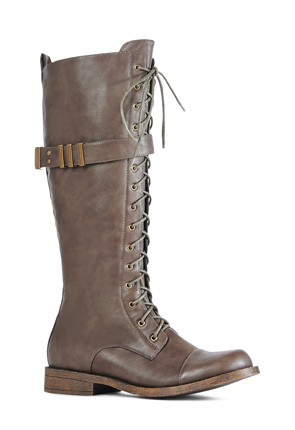 JF Liza Women's Lace Up Boots