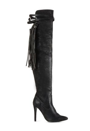 Radford Women's High Heel Fringe Boots