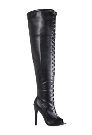 Jackie Over the Knee Boots for Women