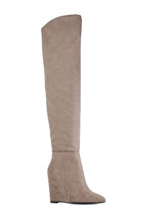 Felicia Wedge Heel Boots