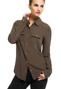 Affordable Designer Clothes For Women The Twill Shirt amp Women s