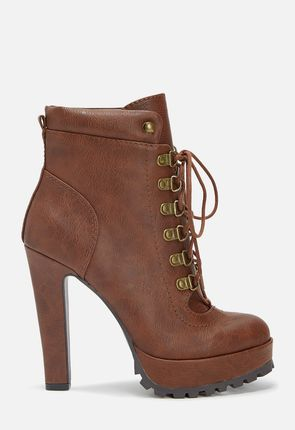 6e631fdec6cb Womens Lace Up Boots - Knee High Tall Ankle High Heel  amp ...