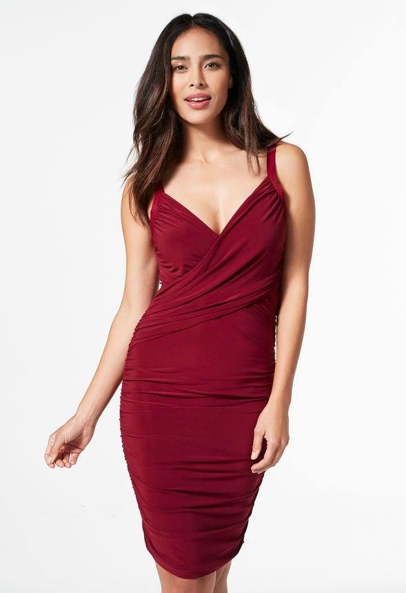 Ruched Banded Bodycon Dress