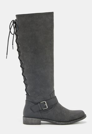 Womens Lace Up Boots - Knee High Tall Ankle High Heel &amp More!
