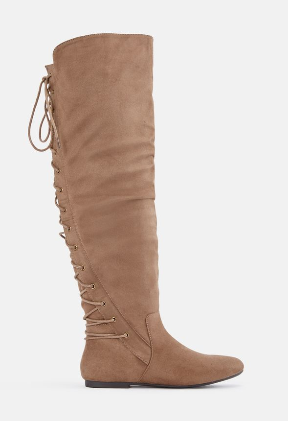 Marian Lace-Up Back Over-The-Knee Boot