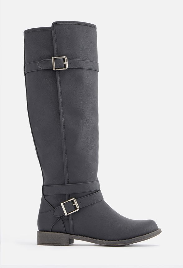 Ride Around Faux Leather Boot