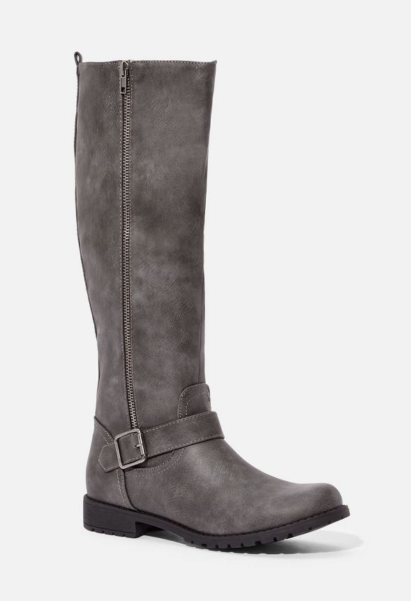 Didoa Faux Leather Zip Boot