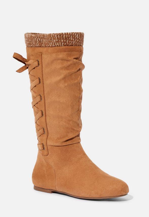 Gabby Sweater Cuff Boot