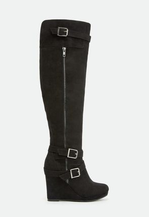 Womens Knee High Boots - Lace Up, Flat, Wedge, High Heel & More!