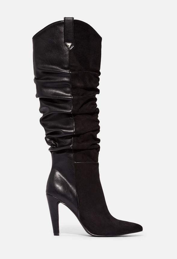 Over You Western Heeled Boot
