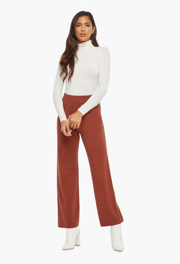 High Waisted Sweater Pants