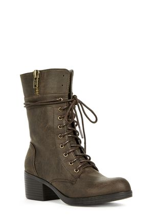 Finleigh Cute Faux Leather Boots