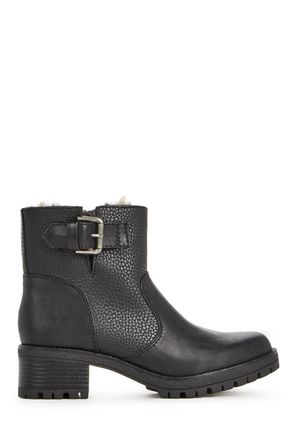 Black Ankle Boots, Black Boots for Women, Short Black Boots ...