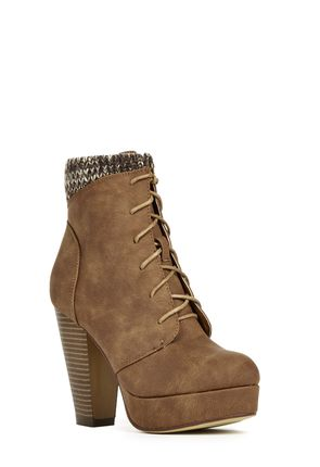 Morena Heeled Ankle Bootie for Women