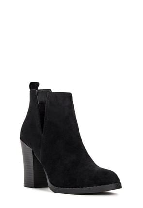 Women's Booties, Black Ankle Boots, Open Toe Booties, Flat Ankle ...