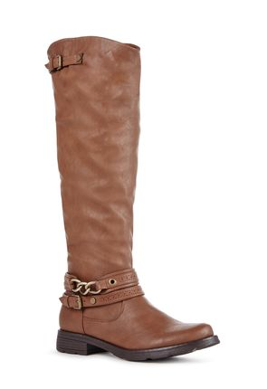 Elly Women's Sandy Faux Leather Boots