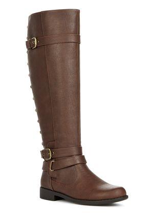 Kambria Cute Fuax Leather Boots