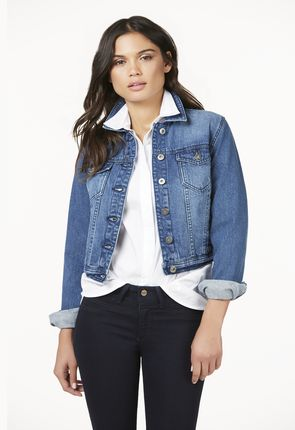 Denim Jackets For Women Cheap - JacketIn