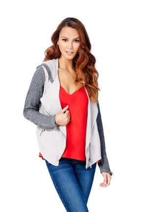 Cheap Women's Designer Clothes Drapey Moto Hoodie amp Designer