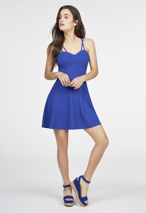 Fit n flare summer dresses in style