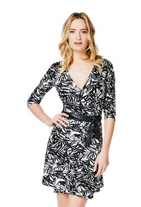 Cute Women's Clothing For Cheap Printed Wrap Dress amp Women s