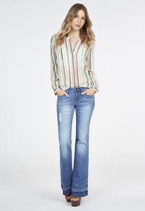 Women's Flare Jeans, Flared Jeans, Designer Denim Jeans, Women's ...
