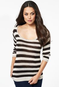 Striped Sweaters For Women