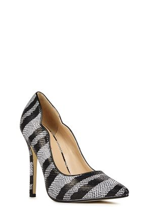 Platform High Heels, Prom Heels, Black Strappy Heels, Silver High ...