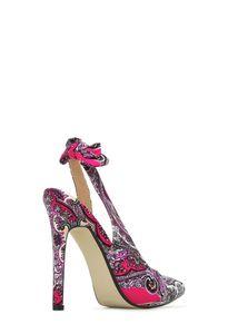 Platform High Heels, Prom Heels, Black Strappy Heels, Silver High ...