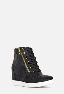 Women's Sneakers, Wedge Sneakers, Women's High Heel Sneakers, High ...