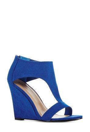 Justfab Dress Shoe Blue