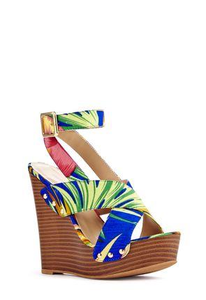 Marcy Women's Designer Wedge Sandals