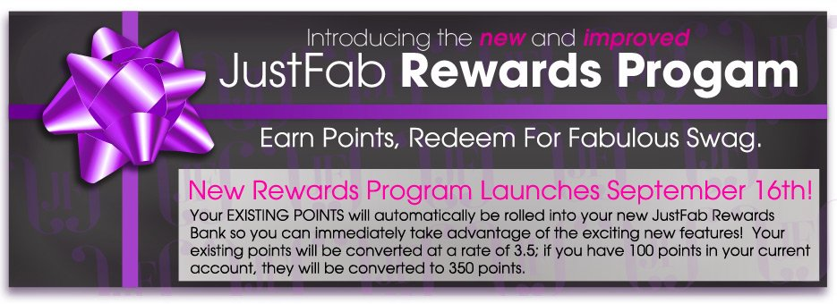 JustFab Rewards Progam
